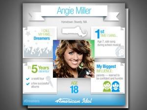 angie miller idol website