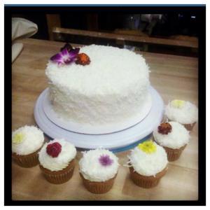 Half Baked Cafe cake