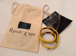 Great packaging from Rustic Cuff.